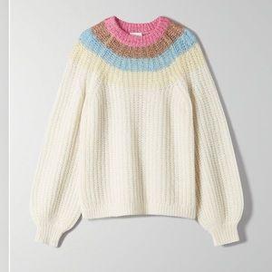 BNWOT Aritzia Wilfred Saba Sweater 🌈